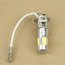 DC12V H3 6500K High Power Xenon White LED Bulb 7.5W Fog Driving Lights Bulb Lamp