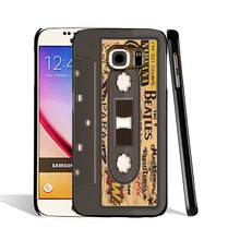08540 Cassette Tape Music Bands cell phone case cover for Samsung Galaxy S7 edge PLUS S6 S5 S4 S3 MINI