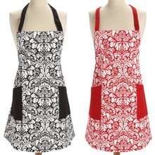 Apron Cotton Women Lady Cooking Dress Retro Europe Gifts Apron Palace Elegant Restaurant Kitchen Cleaning Housework