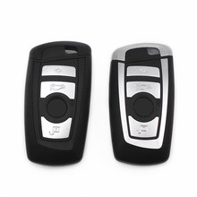 4 Buttons Smart Key Shell Case For BMW Car Remote Key Fob Cover Housing F01 F02 F03 F04 F11 F07 F10 F30 F31 F35 F06 F12 F13