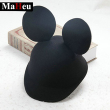 Mickey Mouse baseball cap for kids Cute casual peaked cap Solid gorras boys girsl lovely Mickey ears casquette snapback hats