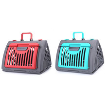 Pet Carrier Crate for Cat Rabbit Dog  Folded Travel Backpack 2 Colors 1Pcs