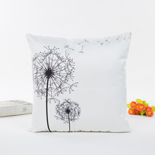 2017 New Fashion Decorative Pillow Case Family Gift Hot Good Quality Pillow Cover fronhas de almofadas decorativas yastik kilifi