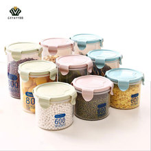 1 Pcs Sealed Miscellaneous Grains Storage Tank Preservation Storage Box of Food Organize Food Storage Household Items 3 Capacity(China)