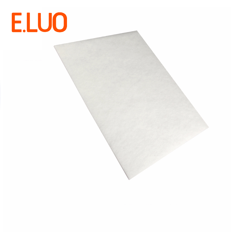 The white DIY filter cotton cleaner parts, high efficient composite air purifier parts HJZ2202