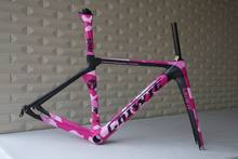 OEM products TOP SELLING customized paint carbon road frame Chinese cheap bike frame, carbon road bike ,chinese bicycle frames(China)