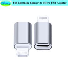 Portable Micro USB Female Adapter for Lightning USB Male 8PIN Connector for iPad for iPhone for iPod Sync Charging Data Adapter