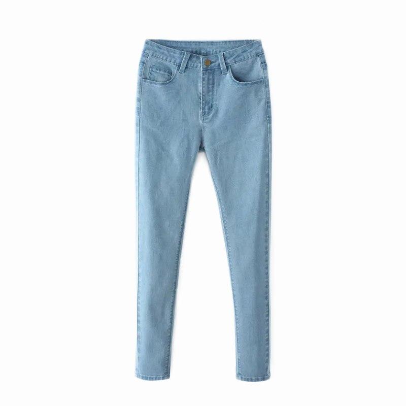 Autumn Fashion High Waist jeans Elastic plus size Slim Women Jeans woman femme washed casual skinny pencil Denim pantsОдежда и ак�е��уары<br><br><br>Aliexpress