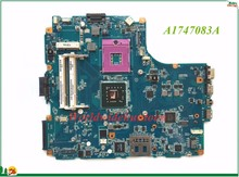 High Quality MB A1747083A For Sony Vaio MBX-218 Laptop Motherboard M851 mPGA478mn Integrated DDR2 100% Tested(China)