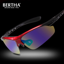 Buy Bertha Polarized Outdoor Sports Windproof Sunglasses P869 for $21.41 in AliExpress store