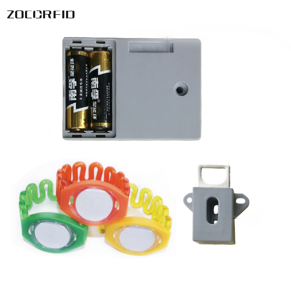 EM 125KHZ electronic Drawer lock for children Safety lock baby door Safety buckle Prevent open drawer cabinets <br>