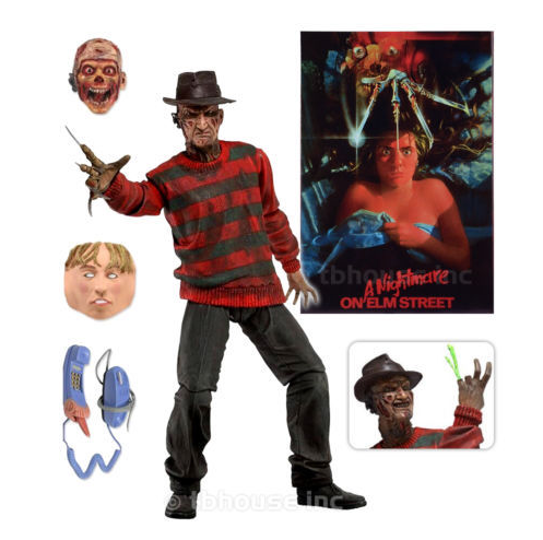 NEW hot 15cm a Nightmare on Elm Street Freddy Krueger collectors action figure toys Christmas gift doll with box<br><br>Aliexpress