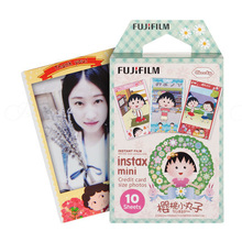 10PCS Original Fujifilm Fuji Instax Mini 8 Film Cartoon Momoko For 8 50s 7s 90 25 Polaroid Share SP-2 Instant Camera