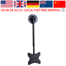 TV Bracket Mount Ceiling Roof 17 inch to 37 inch LCD LED Plasma Monitor Flat Tilting Swivel TV Mounts(China)