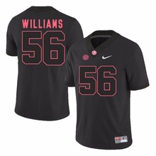 Nike 2017 Alabama T.J. Yeldon 4 Ryan Kelly 70 Tim Williams 56 Vinnie Sunseri 3 Ice Hockey Jerseys(China)