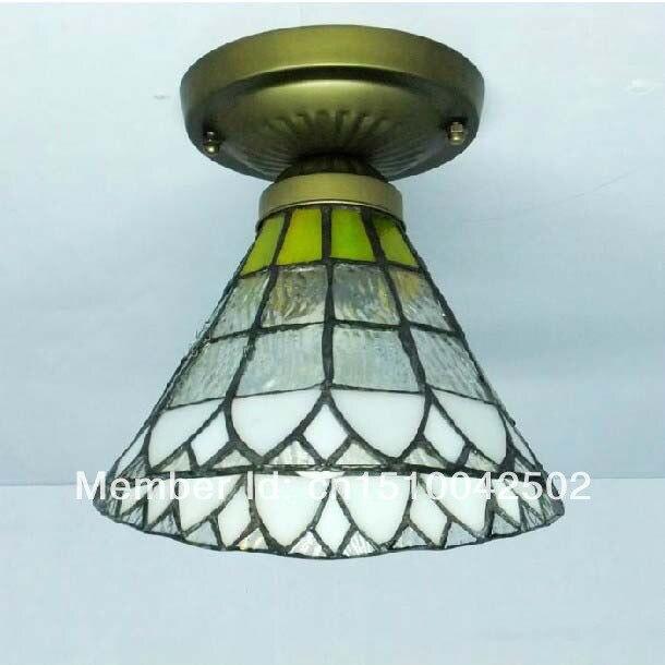 Tiffany Glass Ceiling Rain simple European style bedroom living room lamp aisle lights DIA 16 CM H 16 CM<br><br>Aliexpress