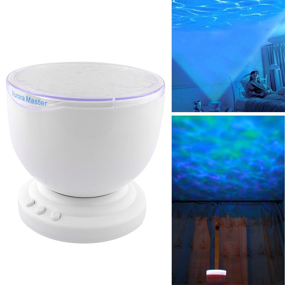 Multi Color Aurora Master Ocean Wave Projector LED Lamp Night Light Romantic Decoration Children Gift<br><br>Aliexpress