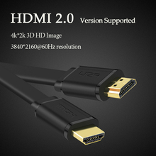 V2.0 HDMI Cable 4K 1080P male to male Adapter 3D for Computer TV HDTV Projector Camera 0.5m 1m 1.5m 2m 3m(China)