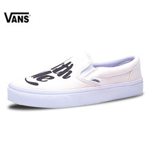 3dd5caf1191 Vans Slip on Original New Arrival Vans Women s Classic Old Skool Low-top  Skateboarding Shoes for Women VN0003Z4I9Z 36-39