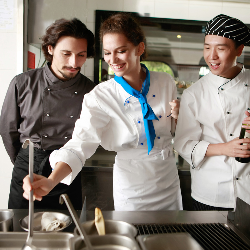 Restaurant Kitchen Uniforms compare prices on long sleeve cleaning uniform- online shopping