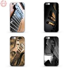 "EJGROUP Soft TPU Silicon Mobile Phone Shell Protector For Apple iPhone 5 5S SE 4.0"" inch Super Shining Day Discount Guitar"