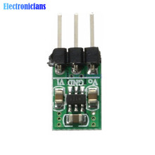 5Pcs mini 2 in 1 DC-DC 1.8V-5V to 3.3V Power Module Step Down Step Up Converter Wifi Bluetooth ESP8266 HC-05 CC1101