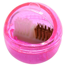 1pcs Cleaning Brush Nail Art Equipment Manicure Accessory Portable Cleaner Box For Nail Bit Drill Burr Head TRNJ217(China)