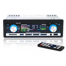 New Arrival JSD-930 Car Stereo Audio Player FM Aux Input Receiver In-Dash SD USB In Dash Music MP3 Radio Player for Cell Phone