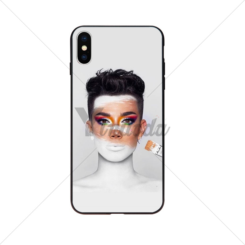 James Charles X Blank Canvas