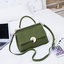 Luxury Shoulder Bags for Women 2017 New Ladies Small Handbags Genuine Leather Bag Female Cover Satchel Bag Black Green Gray A053