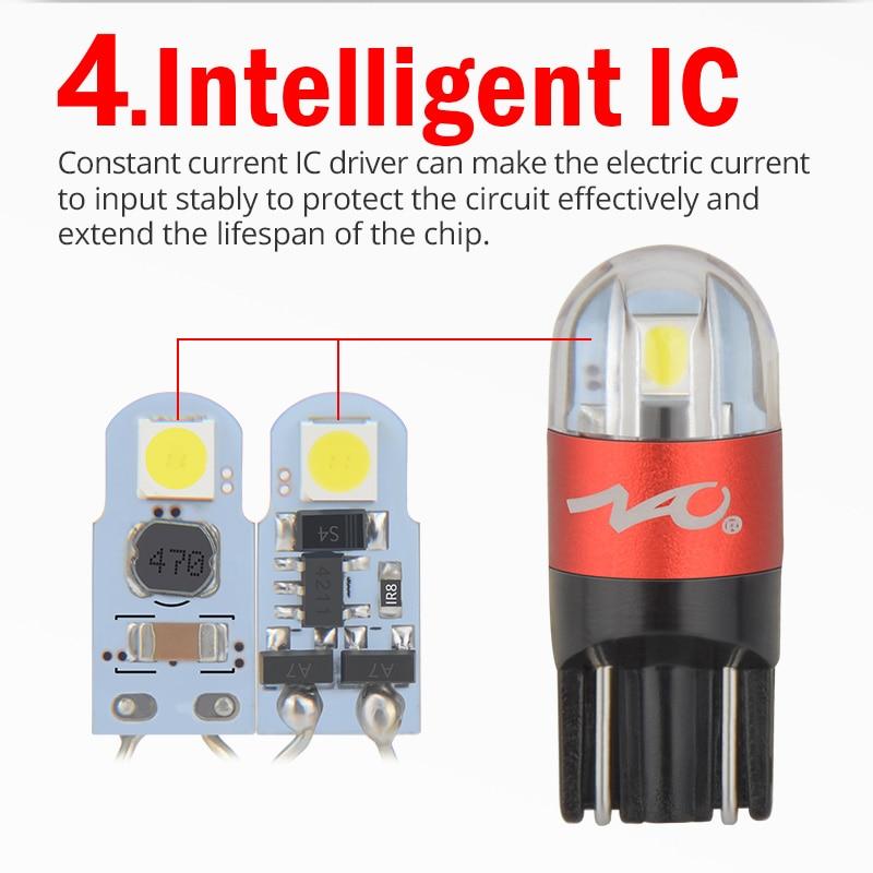 LED T10 W5W bulb (9)