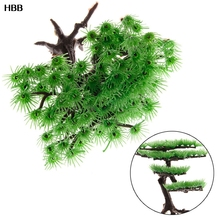 1pc  Water Aquarium Glass Artificial Plants Fish Tank Decoration Accessories Simulation Moss Tree Pet Supplies