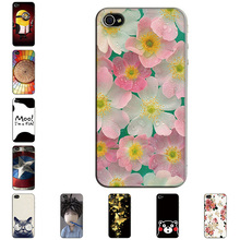 Hard Case for Apple iphone 3 3G 3GS Slim Back Cover UV Painting PC Shield Protective Case for Apple iphone 3 3G Slim Skin Bags(China)