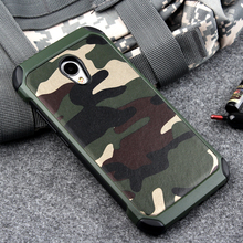 Hot Case for Meizu MX6 cover 2 in1 Army Camo Camouflage Pattern PC+TPU Armor Anti-knock Protective Back Cover For MEIZU MX 6(China)