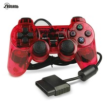 Soblang 1.5M Wired Dual Vibration Controller Gamepad for Sony Playstation 2 PS2 Controller Dualshock 2 Joystick Console 3 colors