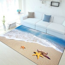 summer 6mm ultra-thin 3D carpet Mediterranean style study room computer swivel mat mats living room sofa mats bedroom rectangula