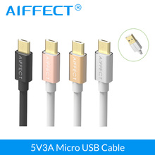USB Cable,AIFFECT Micro USB Cable 5V 3A Fast Data Sync Charger Cable 1.0M 1.5M for Samsung Xiaomi Huawei Android Charger Cable