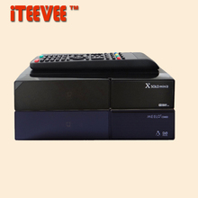 1PC MEELO COMBO  X SOLO MINI 3 mini3 Dual DMIPS Processor HD 1080P Satellite Receiver 4GB Serial Flash DVB-S2+DVB-T2/C DVB S2 T2