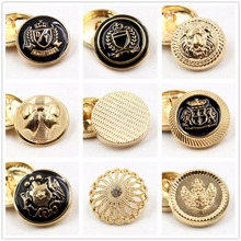 N171124 , 10pcs Metal buttons, clothing accessories DIY handmade materials , Suit coat buttons, fashion decorative buttons(China)