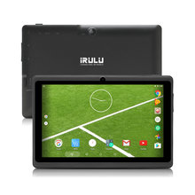"iRULU Tablet X3 7""GMS Certification 1024*600 TFT LCD Screen 1.3GHz Quad Core Dual Camera Android 6.0 ROM 16G Tablet PC Bluetooth"