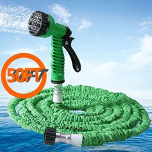 Top Selling 50FT Garden Hose Expandable Magic Watering Hoses Garden Water Pipe With Spray Gun Drip Irrigation Weapons Mangueira