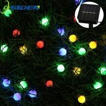 OSIDEN 8M 60 LED Solar Lamps String Fairy Lights Garland Christmas Wedding Garden Party Decoration Outdoor - Official Store store