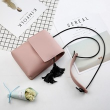 KSQ Fashion Universal PU Leather Cell Phone Female bag Shoulder Pocket Wallet Pouch Neck Strap Square bag For Samsung For iPhone