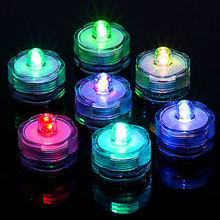 romantic Polypropylene Plastic 14 Colors Candle Shape LED Flickering Flameless Candle Light Xmas Party Wedding home Decoration