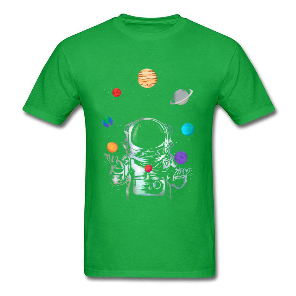 Space Circus Crazy Labor Day 100% Cotton Round Neck Male Tops & Tees Party T-shirts Plain Short Sleeve Tshirts Space Circus green