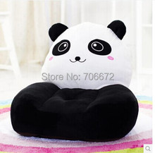about 54x45cm giant panda plush toy zipper closure tatami soft sofa floor seat cushion ,birthday gift t8959