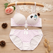 SZivan Training bra for girls High quality cotton manufacturing Underwear for girls Teenage girl bra set(China)