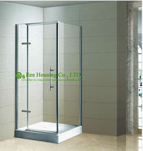Shower room best Selling Hinged Bathroom Shower Enclosure,L-shape Hinged Shower Enclosure(China)