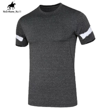 2017 New Men's Tops Short-Sleeved Sweatshirt Fitness  Breathable Quick-Drying T-shirt  Clothes Summer Latest Size 2XL 55