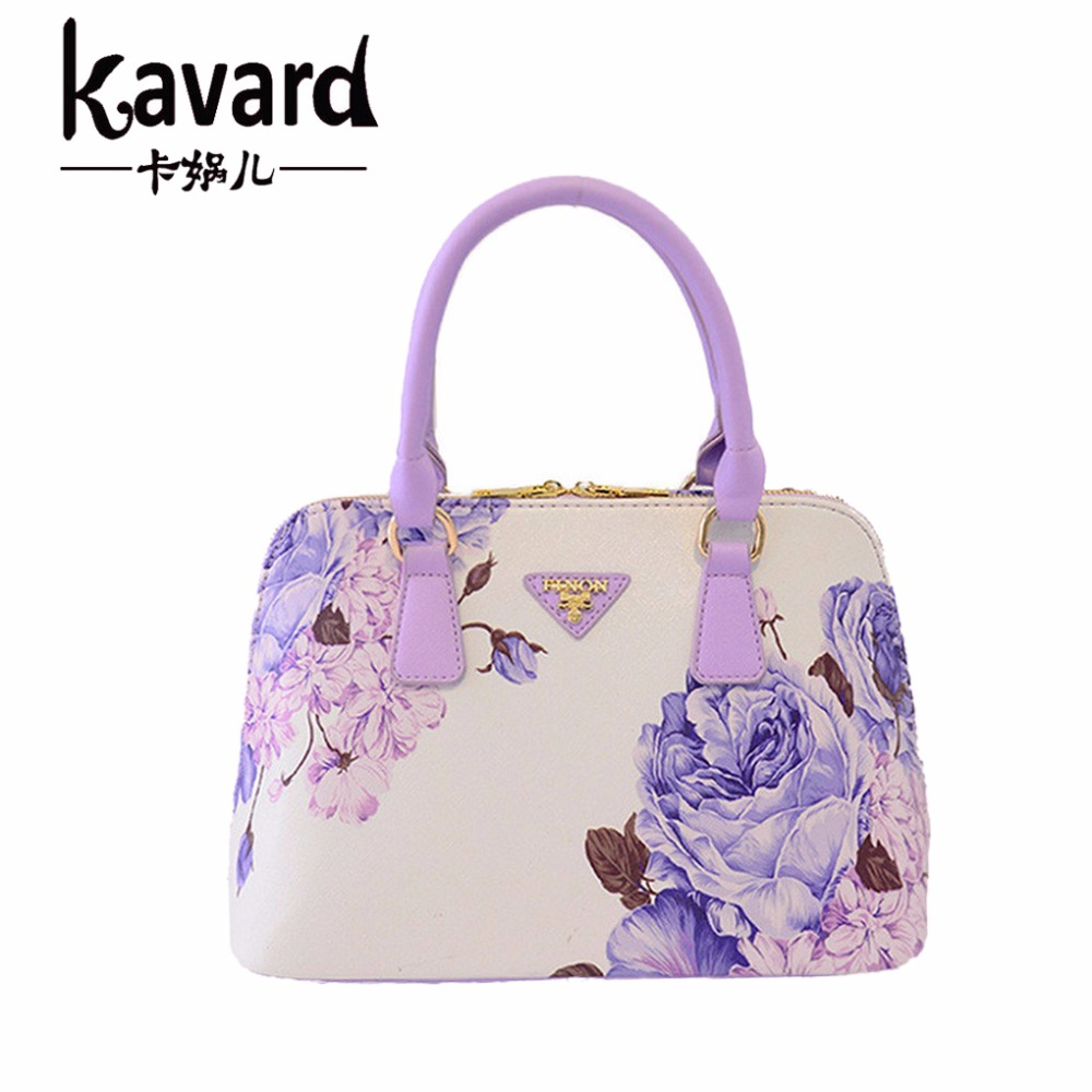 Small Mini Beach Shell Floral 2017 flower bag female luxury print women PU leather handbags famous brands designer dollar price<br><br>Aliexpress